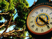 Larchmont Village clock